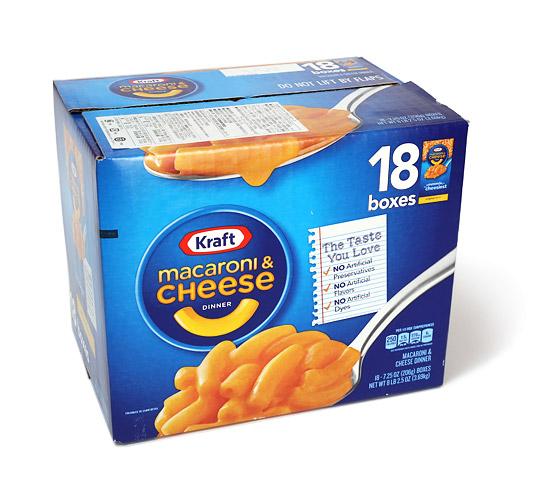 Kraft(クラフト) マカロニ&チーズ 18個入