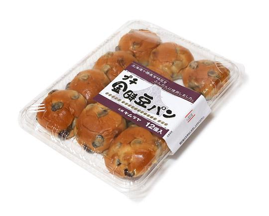札幌キムラヤ プチ金時豆パン 12個入