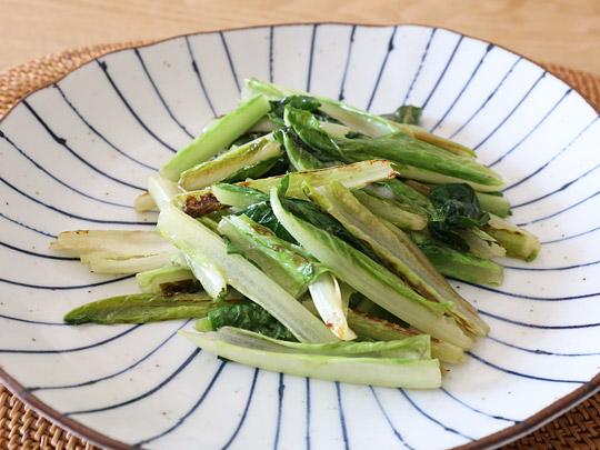 熊本県産 ロメインレタス 調理例(青菜炒め)