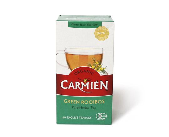 CARMIEN オーガニック グリーンルイボスティー 1箱