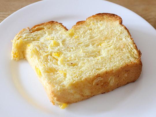 コーンブレッドローフ トースト