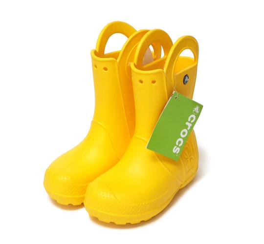 クロックス キッズ用 ハンドルイットレインブーツ(子供用長靴)