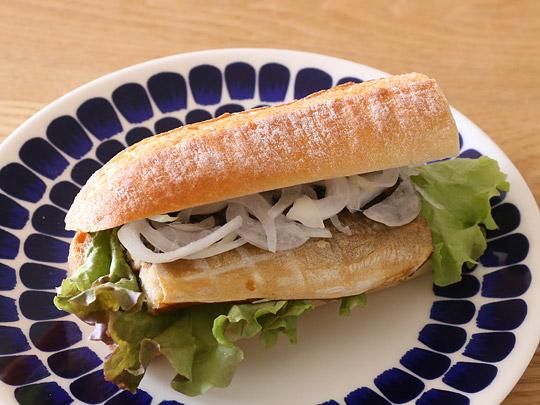 さばフィレ燻製 生食用 サバサンドイッチ