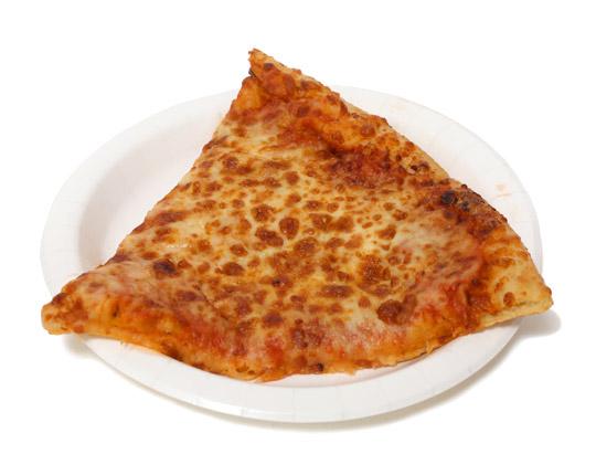 フードコート クワトロフォルマッジピザ