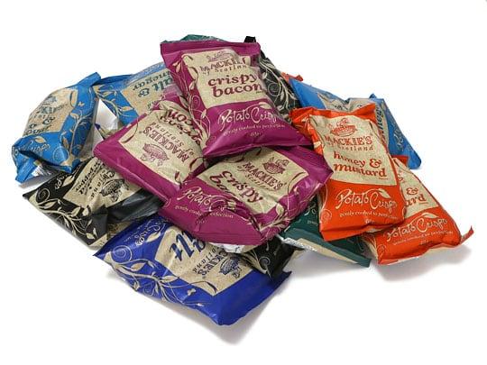 マッキーズ ポテトチップス マルチパック 40g×18袋 全部出した