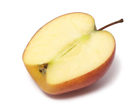 ニュージーランド産 こるりんご 2.0kg カット断面