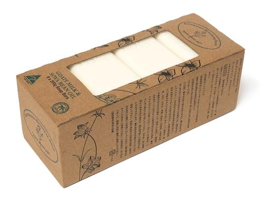 オーストラリアン ボタニカルソープバー ヤギミルク&大豆オイル