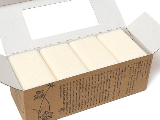 オーストラリアン ボタニカルソープバー ヤギミルク&大豆オイル 箱開封