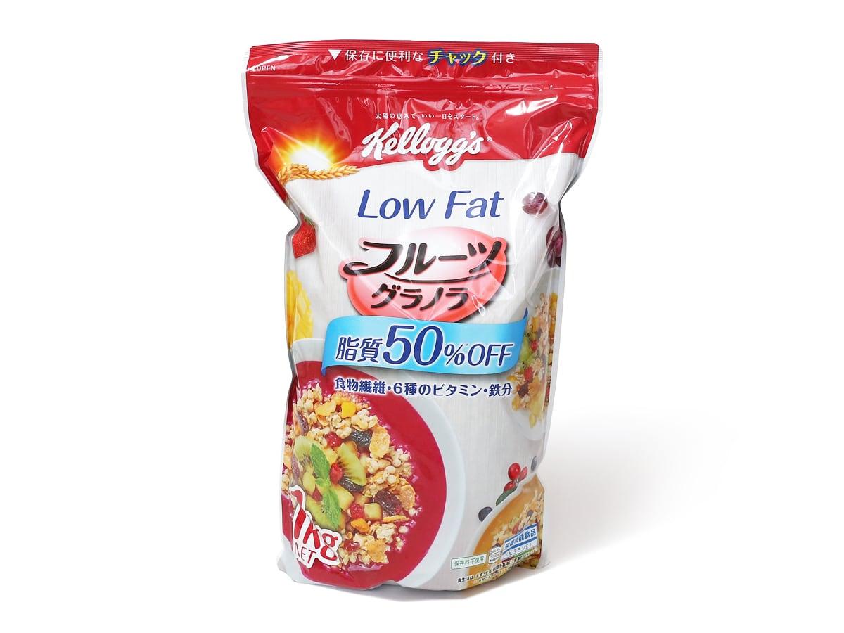 ケロッグ フルーツグラノラ LowFat 脂質50%OFF