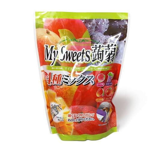 My Sweets蒟蒻 4種ミックス 蒟蒻ゼリー