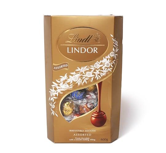 リンツリンドール トリュフチョコレート 4フレーバー