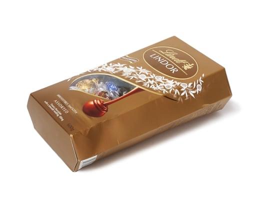 リンツリンドール トリュフチョコレート 4フレーバー 箱