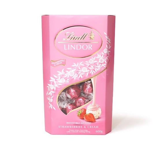 リンツリンドール トリュフチョコレート ストロベリー&クリーム