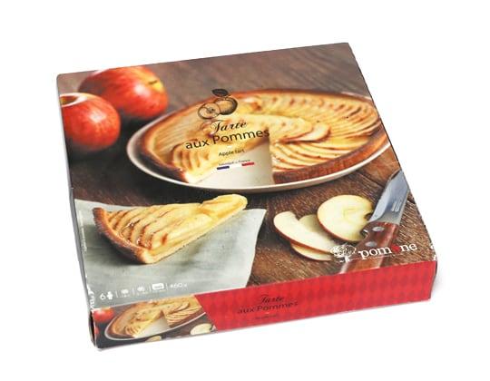 フランス産 冷凍アップルタルト pomone Tarte aux Pommes