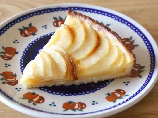 フランス産 冷凍アップルタルト pomone Tarte aux Pommes 1/6サイズにカット