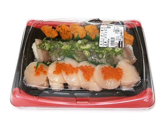 旬のにぎり寿司
