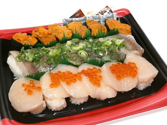 旬のにぎり寿司 開封