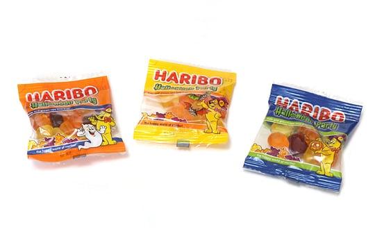 ハリボー ハロウィンパーティードラム 980g 小袋3種