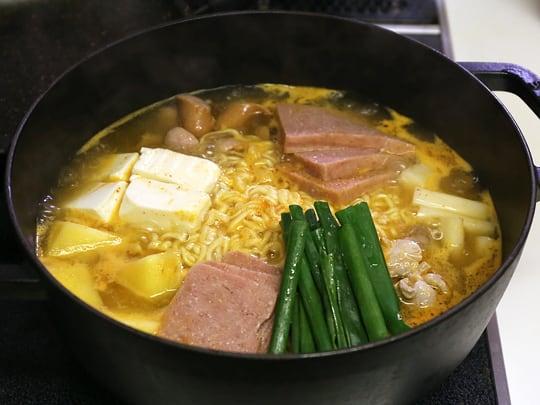 農心 鍋用ラーメン 韓国風鍋