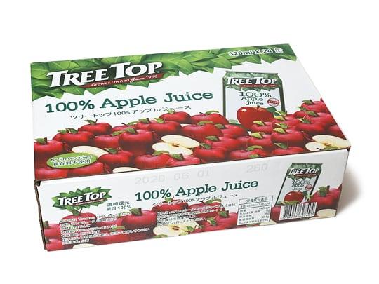 TREE TOP 100%アップルジュース 320ml✕24缶
