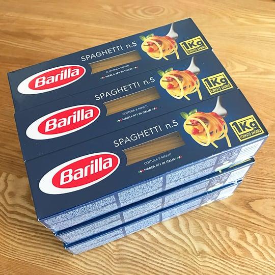 Barillaスパゲッティー1.7mm 9kg