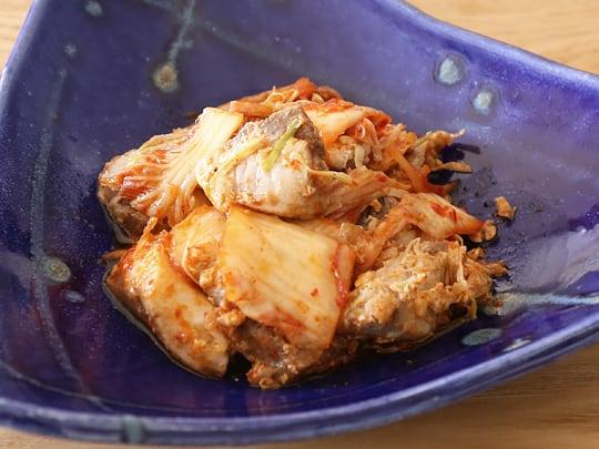 ぶりポキ(ネギ生姜) ブリキムチ