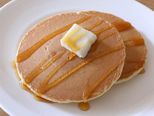 マリンフード 銅板焼ホットケーキ 調理例