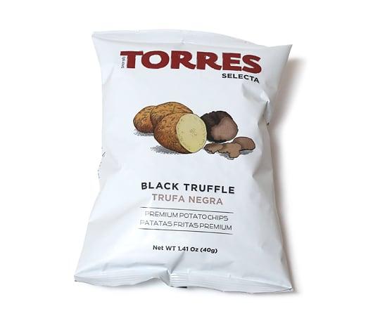 トーレス ポテトチップス 黒トリュフ味 1袋