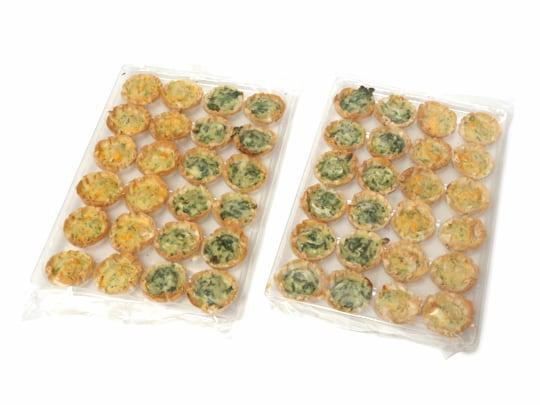 THE FILLO FACTORY キッシュアソート(冷凍キッシュ) 箱の中身(24個ずつの2セット)