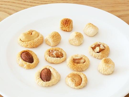 キャンプファイヤー ミニマシュマロ マシュマロクッキー