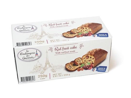 La Boulamgerie des Gourmets レッドフルーツケーキ 1箱
