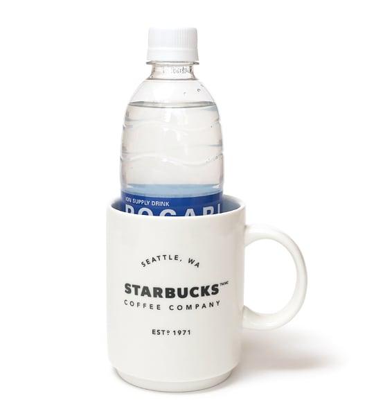 スターバックスコーヒー スタッキングマグ ペットボトルがすっぽり入る