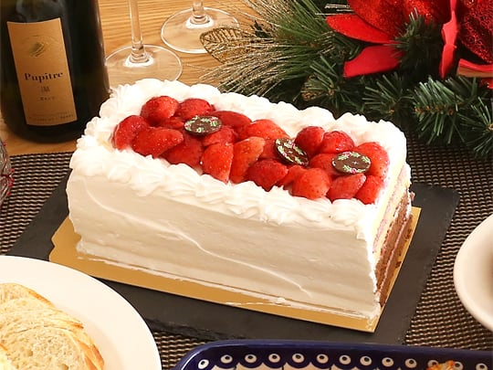 コストコ商品でクリスマスパーティー クリスマスケーキ2018(ベリーグランドクリスマスケーキ)