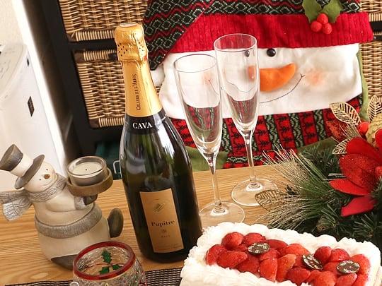 コストコ商品でクリスマスパーティー カヴァ