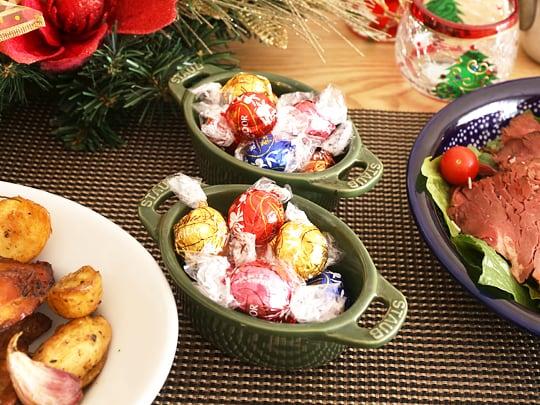 コストコ商品でクリスマスパーティー チョコ