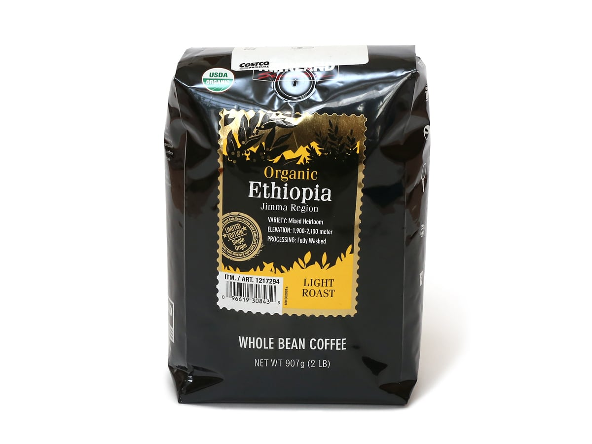 カークランドシグネチャー オーガニックエチオピアコーヒー