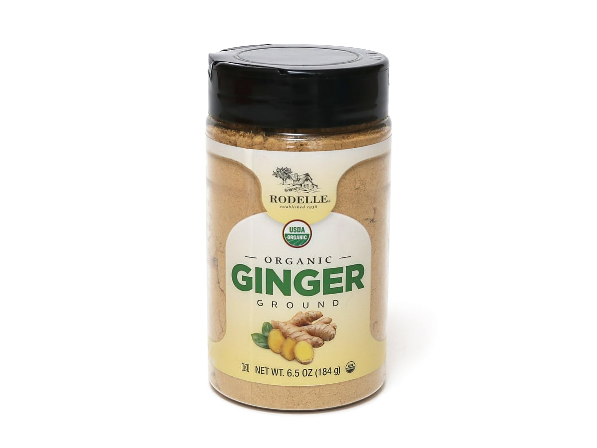 RODELLE オーガニックジンジャー 乾燥生姜パウダー