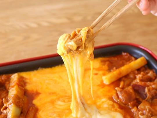 市場チーズタッカルビ 家庭用キット チーズに絡めたチキン