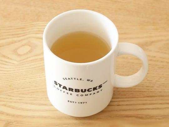VONBEE Honey Citron Tea ゆず茶 2kg マグカップにゆず茶を作った