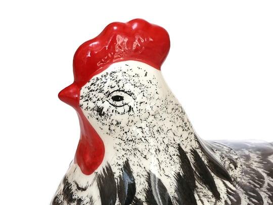 ベルベリー セラミックエッグストア ジャムセット 鶏の顔アップ