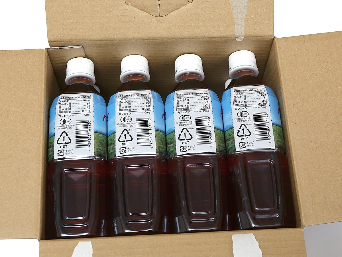 CARMIEN(カーミエン) オーガニックルイボスティー ペットボトルタイプ 外箱開封
