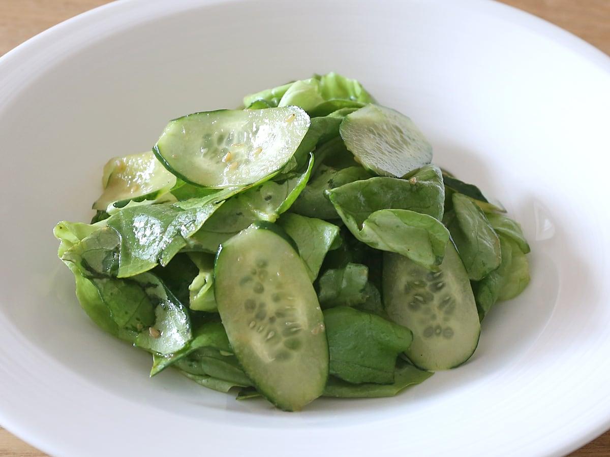 おいしさ特得 叙々苑 野菜サラダのたれ ごま風味 500ml 叙々苑サラダを作ってみた