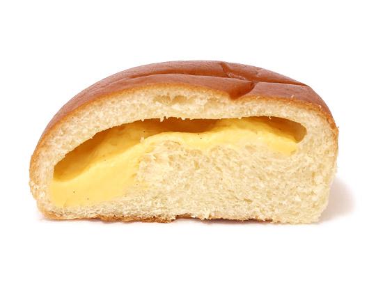 木村屋自慢のクリームパン カット断面