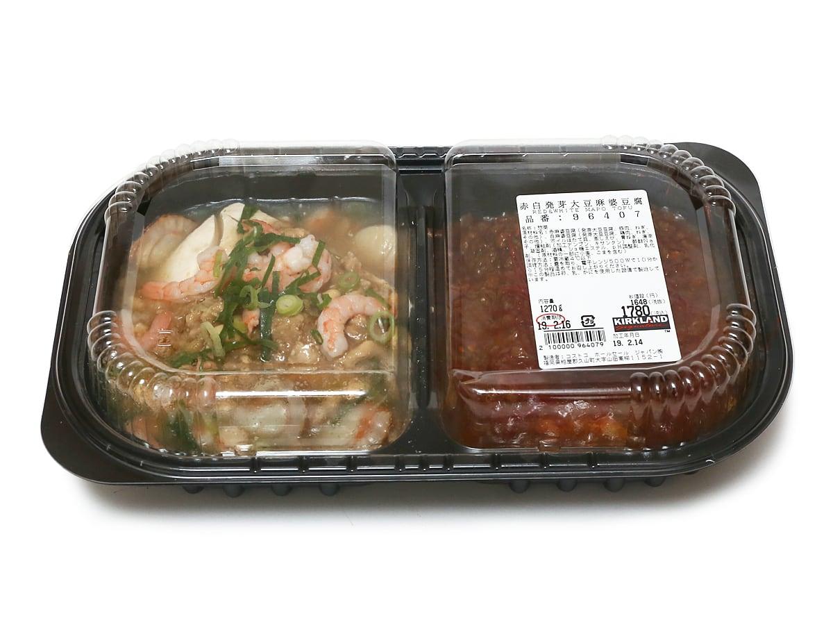 赤白発芽大豆麻婆豆腐