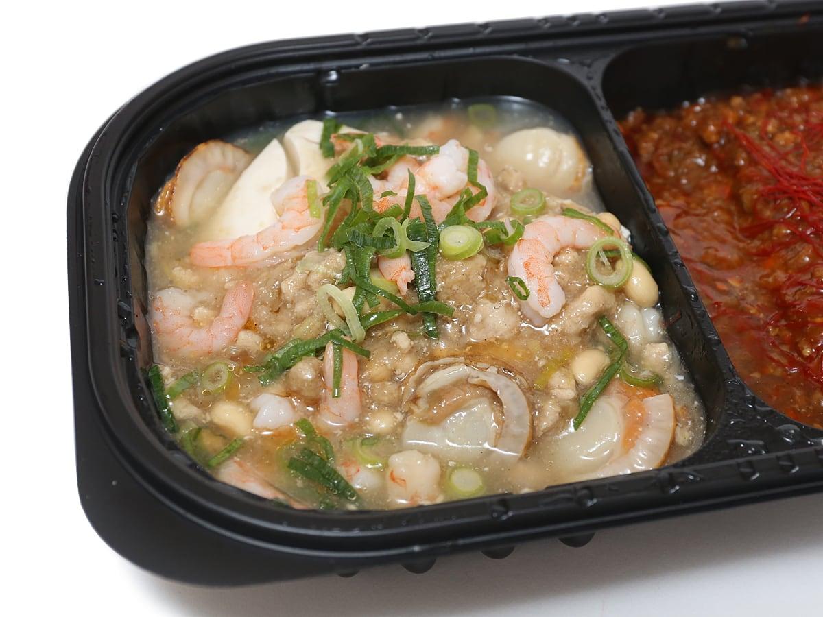 赤白発芽大豆麻婆豆腐 白麻婆豆腐