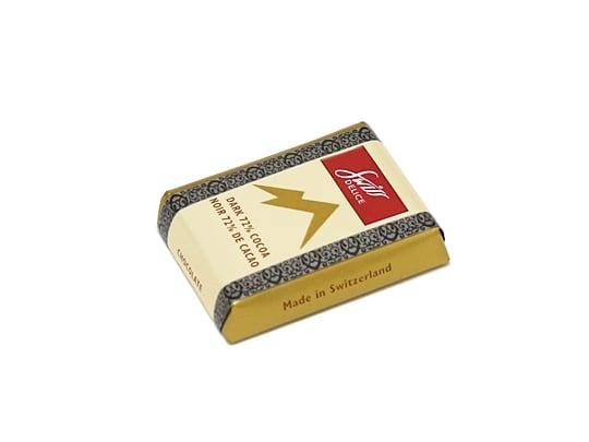 スイスデリス ダークチョコレート 1個