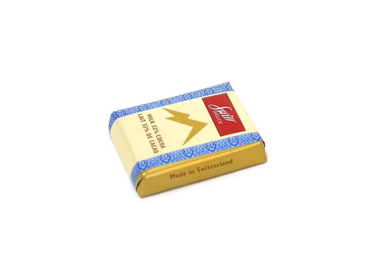 スイスデリス ミルクチョコレート 1個