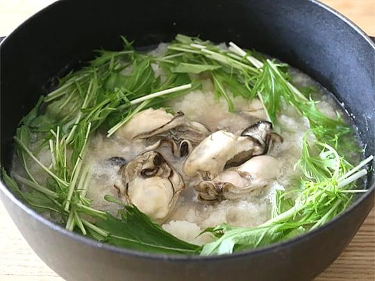 岡山県産 旬の大粒生かき 加熱調理用 (牡蠣みぞれ鍋)