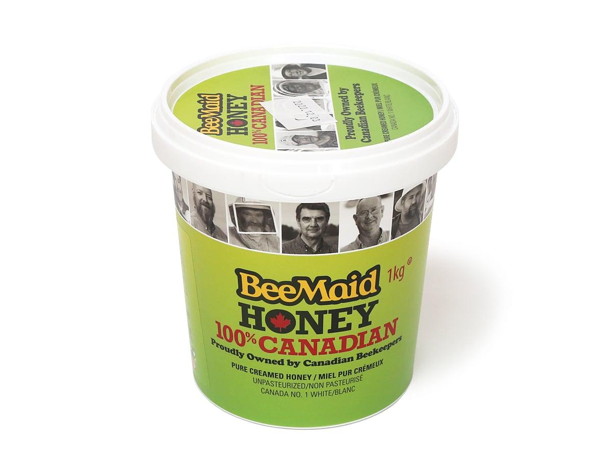 BeeMaid HONEY 100%CANADIAN ピュアクリームハニー 1kg