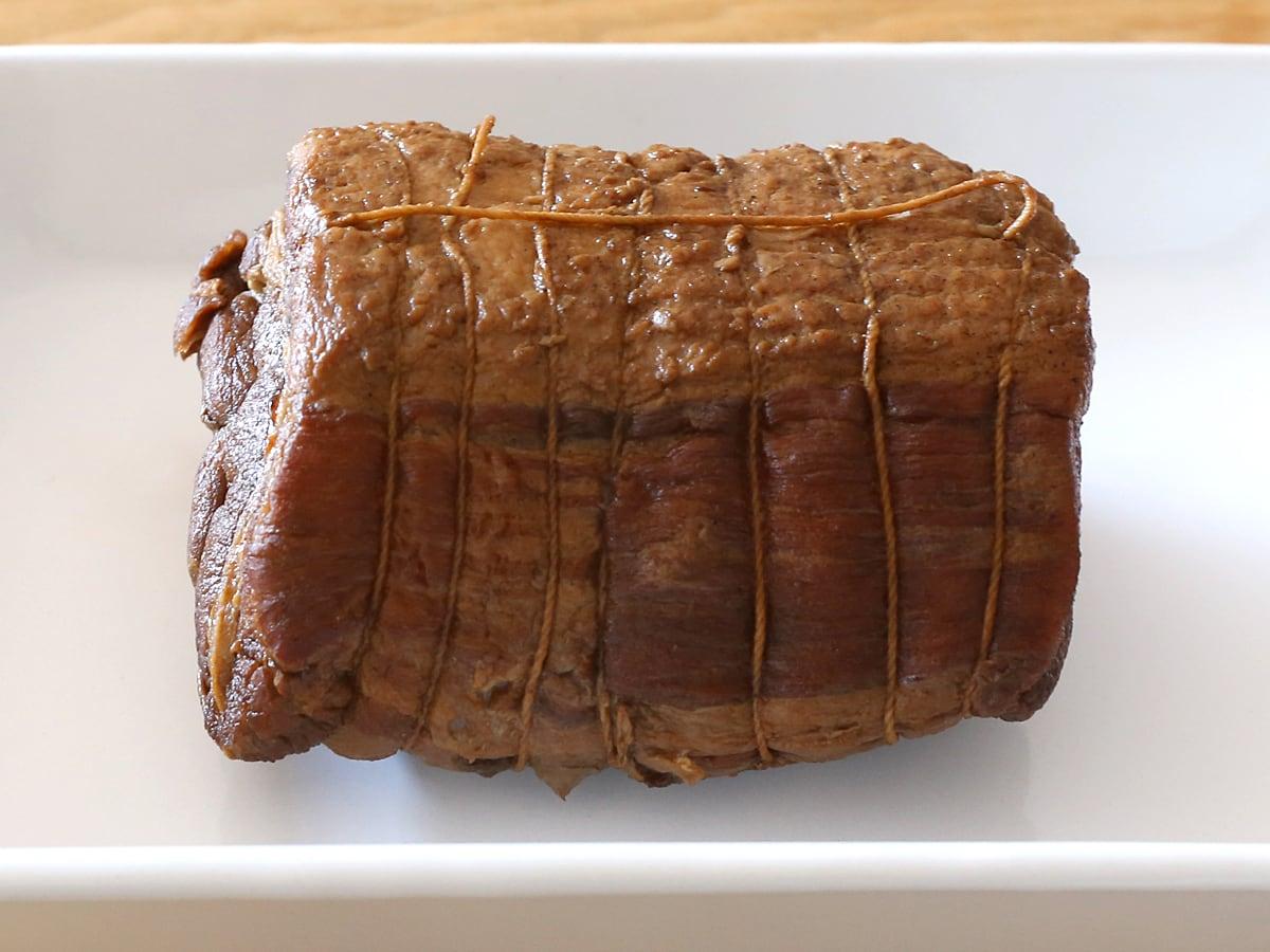 カナダ産豚肉 三元豚バラ真空パックで作った叉焼